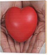 Heart Disease Prevention Wood Print