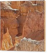 Heart Of The Hoodoos Wood Print