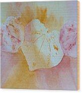 Heart Trio Wood Print