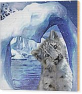 Heart Warmer Card Wood Print