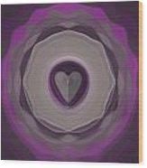 Heart Wheel Wood Print