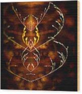 Heartbeat II Wood Print
