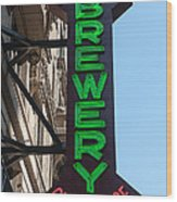 Heartland Brewery Chophouse Wood Print