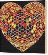 Heartline 7 Wood Print