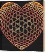 Heartline 9 Wood Print