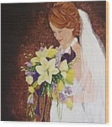 Heather's Special Day Wood Print