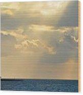 Heaven Looks Down On Paradise - Key West Florida Wood Print