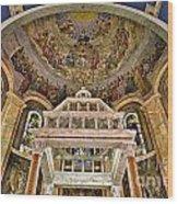 Heavenly Altar Wood Print