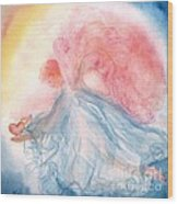 Heavenly Love Wood Print