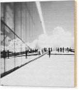 Heavenly Walk In Oslo 3 Wood Print by Marianne Hope