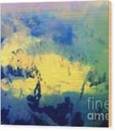 Heaven's Colors Wood Print