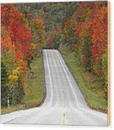 Heavens Highway Wood Print