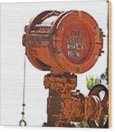 Heavy Duty Mailbox Wood Print by Gregory Scott