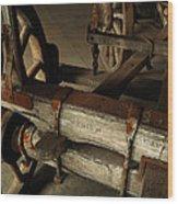 Heavy Hauler - Vintage Wagon Wood Print