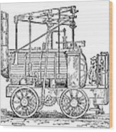Hedley's Puffing Billy, 1813 Wood Print