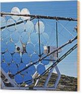 Hegra Gamma Ray Telescope Wood Print