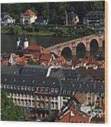 Heidelberg Germany Wood Print