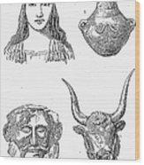 Heinrich Schliemann Wood Print