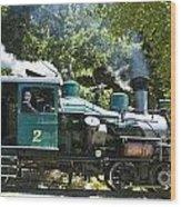 Heisler Steaming Wood Print