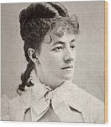 Helena Modjeska (1840-1909) Wood Print