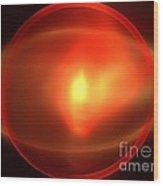 Heliosphere Wood Print