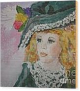Hello Dolly Wood Print by Terri Maddin-Miller