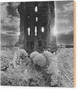 Helmsley Castle Wood Print