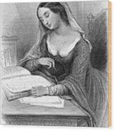 Heloise (c1101-c1163) Wood Print