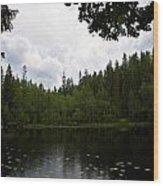 Helvetinjarvi Wood Print