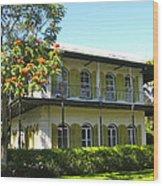 Hemingway's House Wood Print