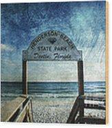 Henderson Beach State Park Florida Wood Print