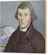 Henry Andrews, English Astronomer Wood Print