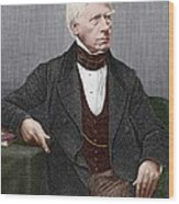Henry Brougham, Scottish Lawyer Wood Print by Sheila Terry