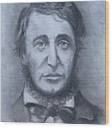Henry David Thoreau Wood Print