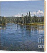 Henry Fork Of The Snake River Wood Print