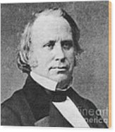 Henry Wilson Wood Print by Photo Researchers