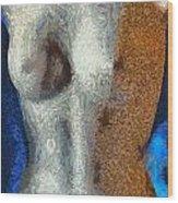 Her Figure 3 Wood Print