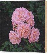 Her Roses Wood Print