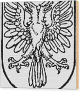 Heraldry: Birds Wood Print