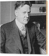 Herbert Clark Hoover Wood Print