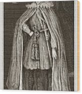 Herbert Of Cherbury, English Philosopher Wood Print by Middle Temple Library
