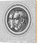 Hercules And Hylas Wood Print