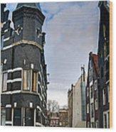 Herengracht 395. Amsterdam Wood Print