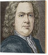 Hermann Boerhaave, Dutch Physician Wood Print