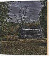 Hermit Life Wood Print