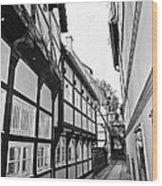 Herrendorftwete Wood Print by Benjamin Matthijs