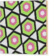 Hexagon Wood Print