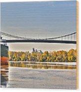 Hi-level Bridge Wood Print