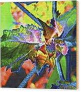 Hidden In Color Wood Print