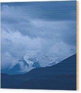 Hidden Mountain Wood Print